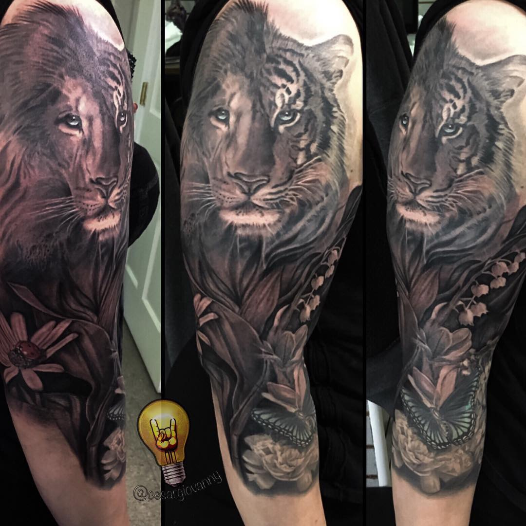 Tattoos By Cesar Perez Creative Ink Tattoo Studio